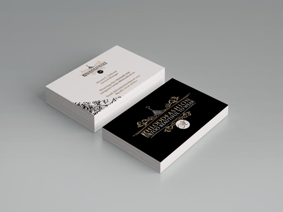 Fashion Company Business Card Design Vive Designs